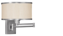 Livex Lighting 6279-91 - Swing Arm Wall Lamp