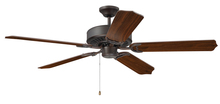 "Craftmade CES52ABZ - Pro Energy Star 52"" Ceiling Fan in Aged Bronze Brushed (Blades Sold Separately)"