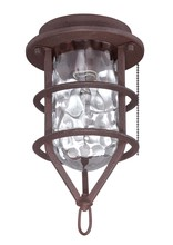 Craftmade OLK200CFL-ABZ - Outdoor Cage  Light Kit w/CFL Bulb Included, ABZ