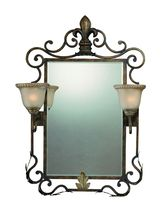 Jeremiah 25722-BBZ - 2 Light Mirror