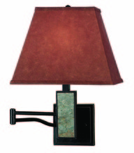 Kenroy Home 20382SL - Dakota Wall Swing Arm Lamp