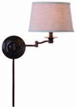 Kenroy Home 32217CBZ - Riverside Wall Swing Arm Lamp