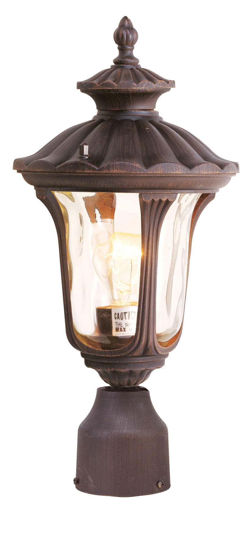 1 light ib outdoor post lantern