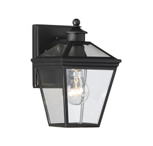 "Savoy House 5-140-BK - Ellijay 7"" Steel Wall Lantern"