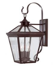 Savoy House 5-141-13 - Three Light Bronze Wall Lantern