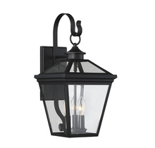 "Savoy House 5-141-BK - Ellijay 9"" Steel Wall Lantern"