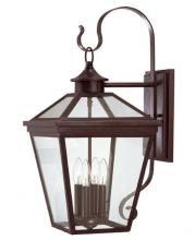 Savoy House 5-142-13 - Four Light Bronze Wall Lantern