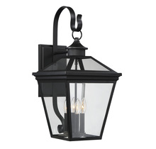 "Savoy House 5-142-BK - Ellijay 12"" Steel Wall Lantern"