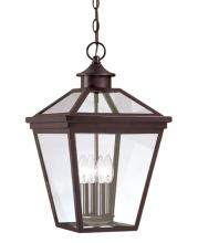 Savoy House 5-145-13 - Four Light Bronze Hanging Lantern