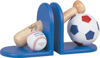 ALL SPORT BOOKEND, BLUE
