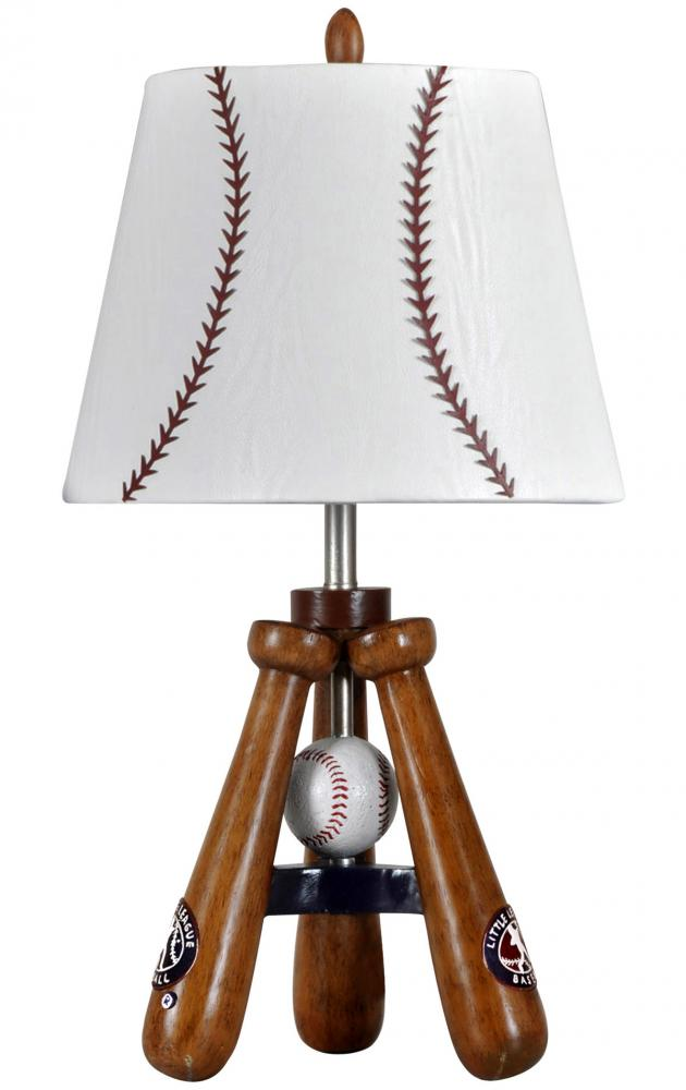 Baseball Theme Lamp With Bat And Ball Stand 1a6um Garbe S