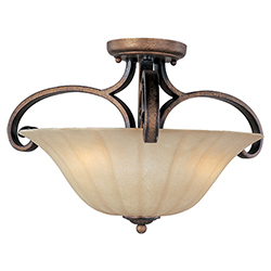 Fremont 3-Light Semi-Flush Mount
