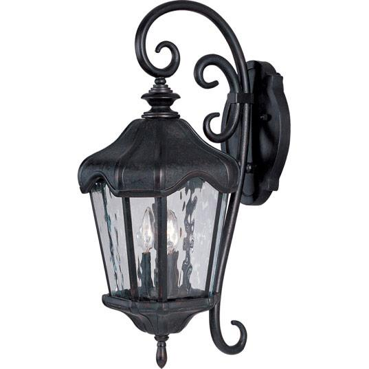 Garden VX 3-Light Outdoor Wall Lantern