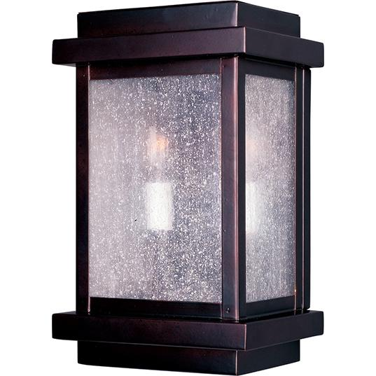 Cubes 2-Light Outdoor Wall Lantern