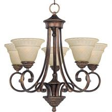 Maxim 11175EVOI - Five Light Bronze Up Chandelier