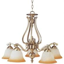 Maxim 11679LTLG - Five Light Gold Down Chandelier