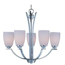 Maxim 20025SWPC - Five Light Chrome Up Chandelier