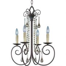 Maxim 22204UR - Four Light Rust Up Chandelier