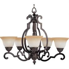 Maxim 2934LTKB - Five Light Bronze Up Chandelier