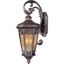 Maxim 40174NSCU - Lexington VX 3-Light Outdoor Wall Lantern