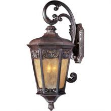 Maxim 40175NSCU - Lexington VX 3-Light Outdoor Wall Lantern