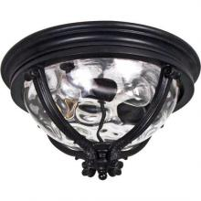 Maxim 41420WGBK - Camden 3-Light Outdoor Ceiling Mount