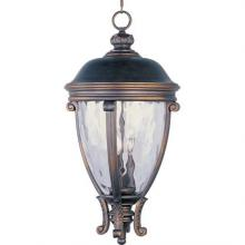 Maxim 41429WGGO - Camden VX 3-Light Outdoor Hanging Lantern