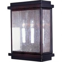 Maxim 4650CDBU - Cubes 3-Light Outdoor Wall Lantern