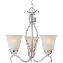 Maxim 85123ICSN - Basix EE 3-Light Chandelier