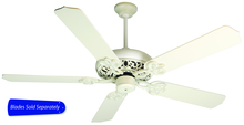 "Craftmade CC52AWD - 52"" Ceiling Fan - Ceiling Fan Motor only - Blades sold separately"