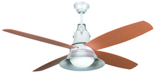 "Craftmade UN52GV4 - Union 52"" Ceiling Fan with Blades and Light in Galvanized Steel"
