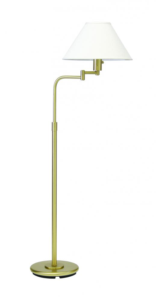 Home Office Swing Arm Floor Lamp
