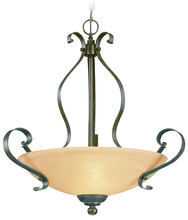 Jeremiah 14424-BST - Brookfield 3 Light Inverted Pendant in Brownstone