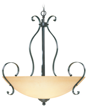 Jeremiah 14445-BST - Brookfield 5 Light Inverted Pendant in Brownstone