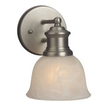 Jeremiah 19805BN1 - Light Rail 1 Light Wall Sconce in Brushed Satin Nickel