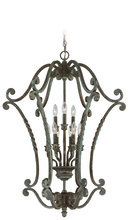 Jeremiah 22439-ET - Sutherland 9 Light Cage Foyer in English Toffee