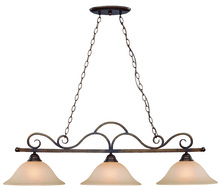 Jeremiah 26043-CB - Gatewick 3 Light Island in Century Bronze