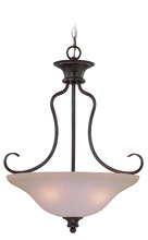 Jeremiah 26333-OB - Linden Lane 3 Light Inverted Pendant in Old Bronze