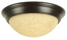 Jeremiah X4913-OB - 2 Light Twist-In Glass Flushmount in Oiled Bronze
