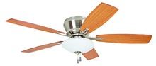 "Ellington Fan ATM52BNK5C - Atmos 52"" Ceiling Fan with Blades and Light in Brushed Polished Nickel"