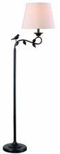 Kenroy Home 32613ORB - Birdsong Swing Arm Floor Lamp