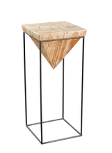 Kenroy Home 65078WDGLG - Wood Stand Large
