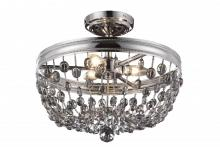 Generation Lighting - Feiss SF312PN - 3 - Light Malia Semi Flush Mount