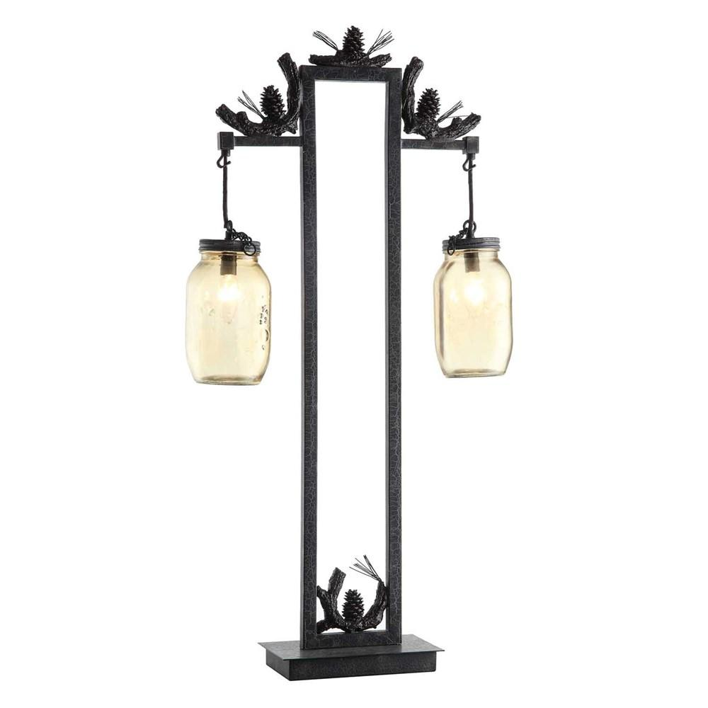 Crestview Collection Fire Catcher Table Lamp