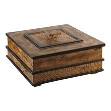 Uttermost 18626 - Uttermost Ray Gold Leaf Box