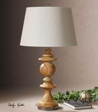 Uttermost 27672 - One Light Solid Wood Table Lamp