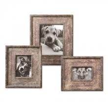 Uttermost 18570 - Uttermost Zana Red Distressed Photo Frames, S/3